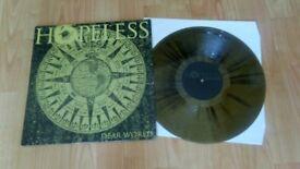 hopeless - dear world - metal rock colour vinyl LP