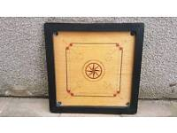 Cool retro vintage games table top with frame. Could be made into a table.