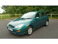 2001 Ford Focus 1.4 CL 5dr Hatchback *12 Months MOT* Full Service History *Very Low Mileage Example!
