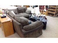 Modern corner sofa in good condition