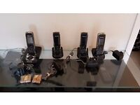 Panasonic KX-TG821E + 4 dect phones
