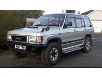 ISUZU TROOPER 3.1 BIGHORN IMPORT AUTOMATIC JEEP 4X4 L200 PICK UP SHOGUN TERRANO FREELANDER