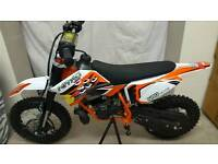 Orange IMR racing.... 50cc kids mx bikes....... ktm 9hp engine
