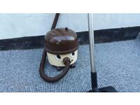 Retro Henry hoover Cream And Brown - Rare Collectors Item early 80's