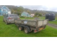Ifor Williams 3.5 tonne tipping trailer
