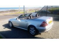 MERCEDES SLK 230K AUTO ROADSTER CABRIOLET WITH FULL HEATED LEATHER ONLY 55K MILES LATE 2004
