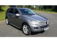 MERCEDES BENZ ML 300 CDI BLUE EFFICIENCY SPORT, SUPERB CONDITION WITH F.S.H.