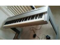 Yamaha Digital Piano Keyboard (Weighted Keys) with original Stand, Pedal