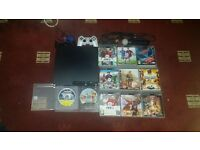 PS3 WITH GAMES AND ACCESSORIES in IMMACULATE CONDITION!!