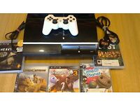 PS3 80gb with controller & games