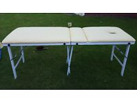 Massage Table - Portable, hardly used, excellent condition,