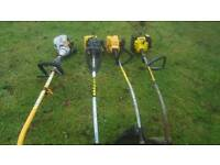 4 strimmers for sale