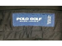 2 x Pairs of Polo Golf Trousers by Ralph Lauren 36W 32L excellent condition £25 for both
