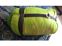 Sleeping bag from decathlon used once