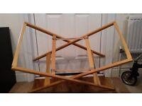Mamas & Papas Moses Basket Stand (Classic Natural Wood Finish) - £10