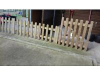 New Picket Fencing