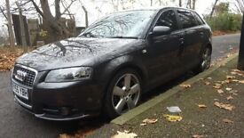 Audi a3 S line 2.0tdi auto LOW MILEAGE! very clean car drives like new. Cheap car economic.
