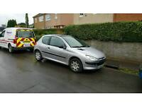 BARGAIN PEUGEOT 206 1.4 LOW MILEAGE 56000 ONLY