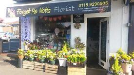 forget me notts florist for sale 17,000