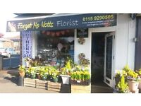 forget me notts florist for sale 17,000