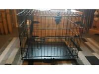 Small double door cage