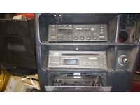 Ford sierra sapphire cosworth 4x4 radio and cd player + amp and all leads rare to find complete now
