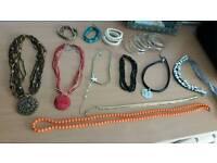 Jewellery Bundle collection. Necklaces bracelets