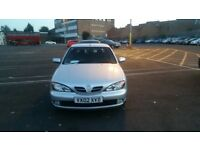 NISSAN PRIMERA 02 REG FOR SALE £349