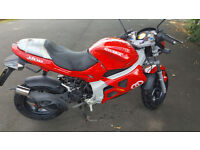 For Sale - RED Gilera DNA 50cc Bike, Cheap, Fast, Reliable