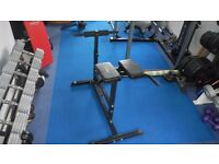 Gym Equipment .. Hyper extension for someone of over 6'