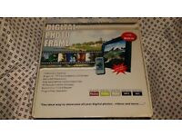 Digi View LCD 10inch Digital Photo Frame, V101, Black, Brand New