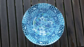 Blue and white ceramic Chinese style bowl