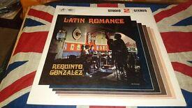 """Requinto Gonzalez - Latin Romance (1965) 12"""" LP"""