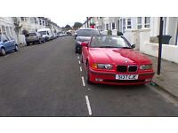 BMW 323i Convertible Red