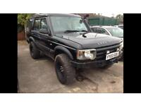 2003 03reg Land Rover Discovery 2.5 Td5 Black Lifted Mud Tyres Winch Bumper Snorkel