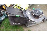 Hayter harrier pro 56 self propelled petrol lawnmower