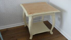 Parker Knoll upcycled coffee/bedside table