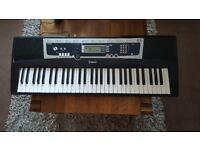 Yamaha ypt-210 portable keyboard