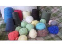 knitting yarn job lot