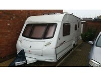 ACE JUBILEE GLOBETROTTER 4 BERTH CARAVAN WITH MOTOR MOVER AND FULL AWNING