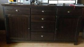 Ikea Sideboard - Solid Wood - overall good condition