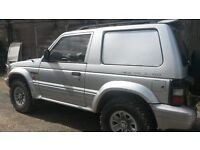 Mitsubishi shogun spares or repairs
