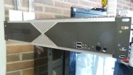 CCTV: Rack mounted Lanner 16 port + cameras and a all host of ballums cables
