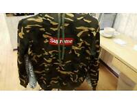 Supreme style hoodie
