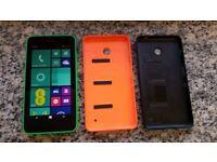 Nokia Lumia 635 mobile phone. EE