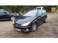 Peugeot 206 1.6 HDi GTi 3dr£999 PART EX TO CLEAR 2004 (04 reg), Hatchback