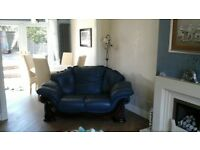2&3 Seater Blue Suite