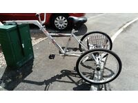 Teenager/adult Trailer tricycle