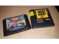 Road Rash 2 + Mega Games 1