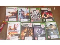 Xbox 360 with 2 controllers 6 games